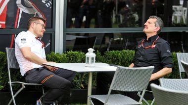 F1 GP Australia 2020, Melbourne: Andreas Siedl (McLaren) e Gunther Steiner (Haas)