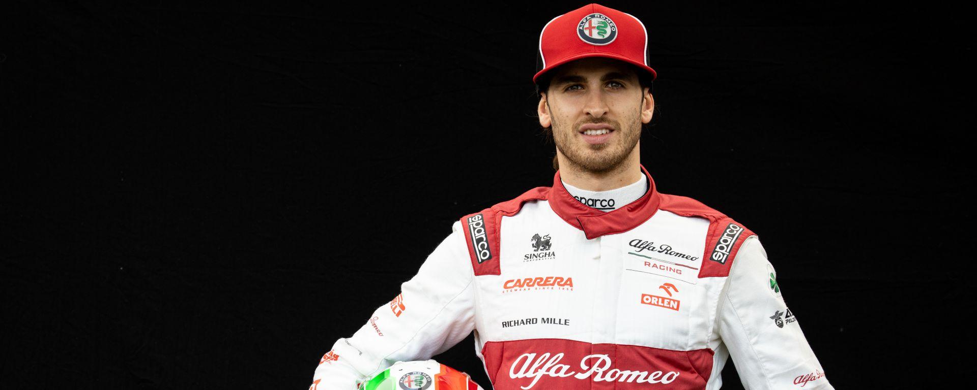 F1 GP Australia 2020, Melbourne: Antonio Giovinazzi (Alfa Romeo Racing)