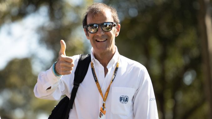 F1 GP Australia 2020, Melbourne: Emanuele Pirro (FIA)