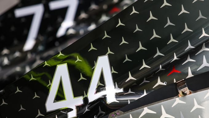 F1 GP Australia 2020, Melbourne: i numeri di gara di Lewis Hamilton e Valtteri Bottas (Mercedes)