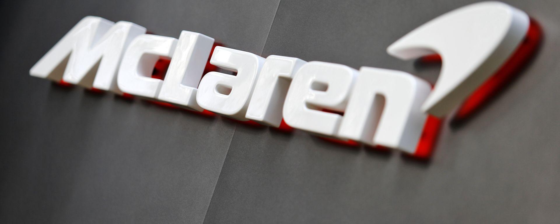 F1 GP Australia 2020, Melbourne: il logo del team McLaren F1