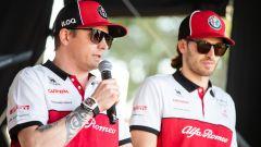 F1 GP Australia 2020, Melbourne: Kimi Raikkonen e Antonio Giovinazzi (Alfa Romeo Racing)