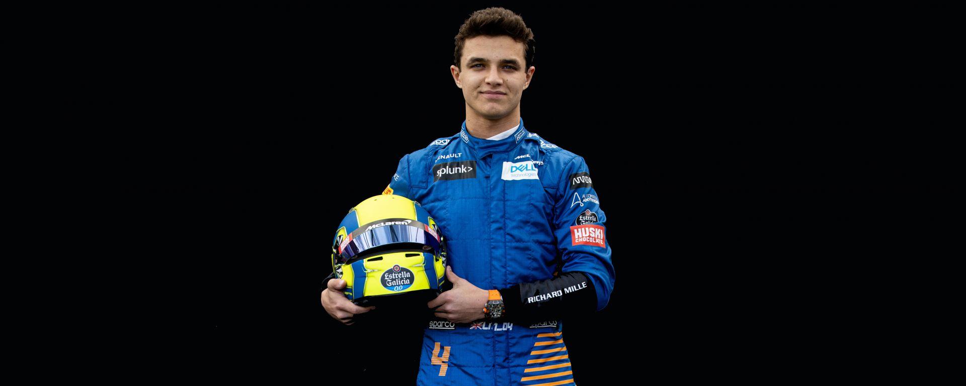 F1 GP Australia 2020, Melbourne: Lando Norris (McLaren)