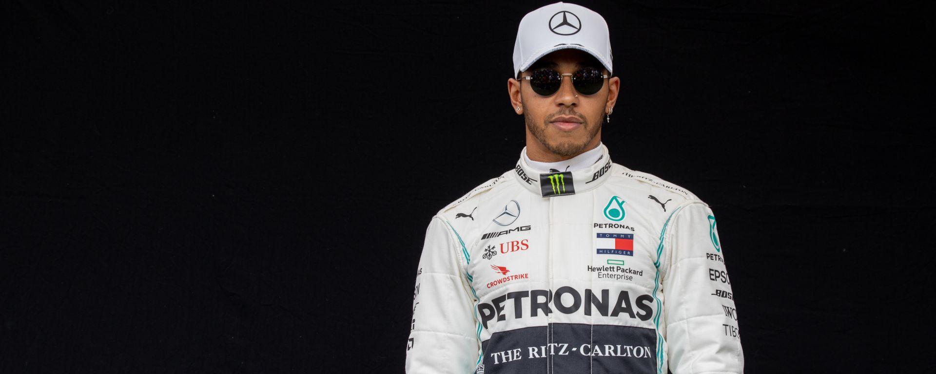 F1 GP Australia 2020, Melbourne: Lewis Hamilton (Mercedes)
