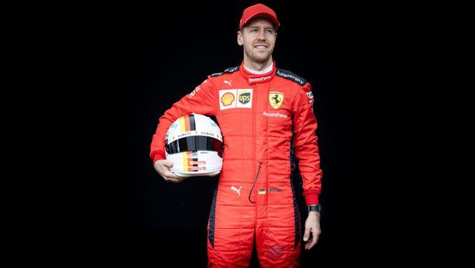 F1 GP Australia 2020, Melbourne: Sebastian Vettel (Ferrari)