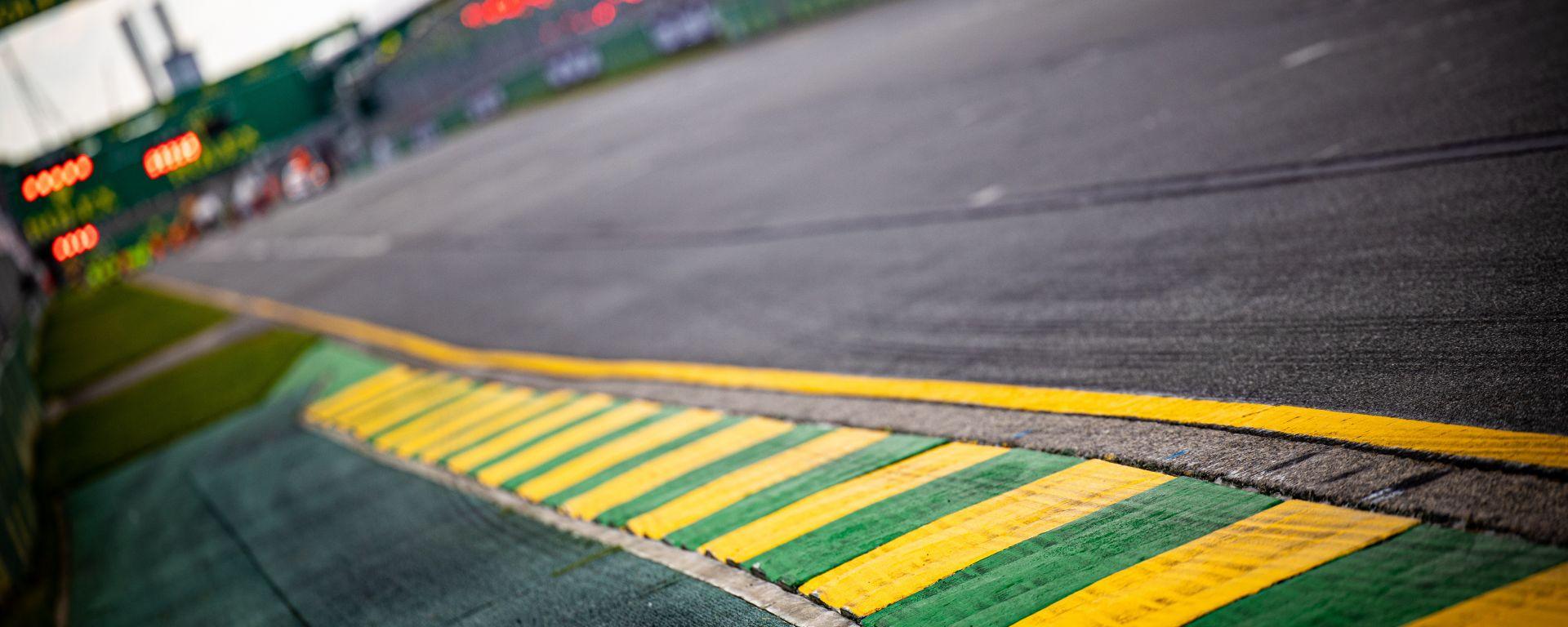 F1 GP Australia 2020, Melbourne: semafori rossi all'Albert Park