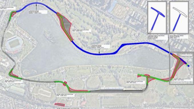 F1 GP Australia 2021, Melbourne: il dettaglio delle modifiche al tracciato dell'Albert Park