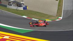 F1 GP Austria 2019, il discusso sorpasso di Verstappen su Leclerc