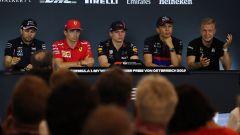 F1 GP Austria 2019, la conferenza stampa piloti del giovedì