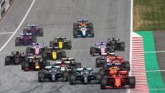 F1 GP Austria 2019, la partenza della gara