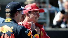 F1 GP Austria 2019, Leclerc e Verstappen dopo le qualifiche