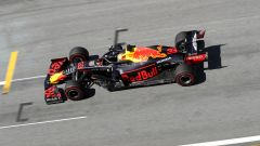 F1 GP Austria 2019, Max Verstappen in qualifica con la sua Red Bull RB15