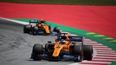 F1 GP Austria 2019, Spielberg: Carlos Sainz e Lando Norris (McLaren)