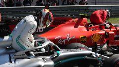 F1 GP Austria 2019, Spielberg, Lewis Hamilton (Mercedes) e Charles Leclerc (Ferrari)