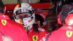 F1 GP Austria 2019, tutta la delusione sul volto di Vettel dopo il problema in Q3