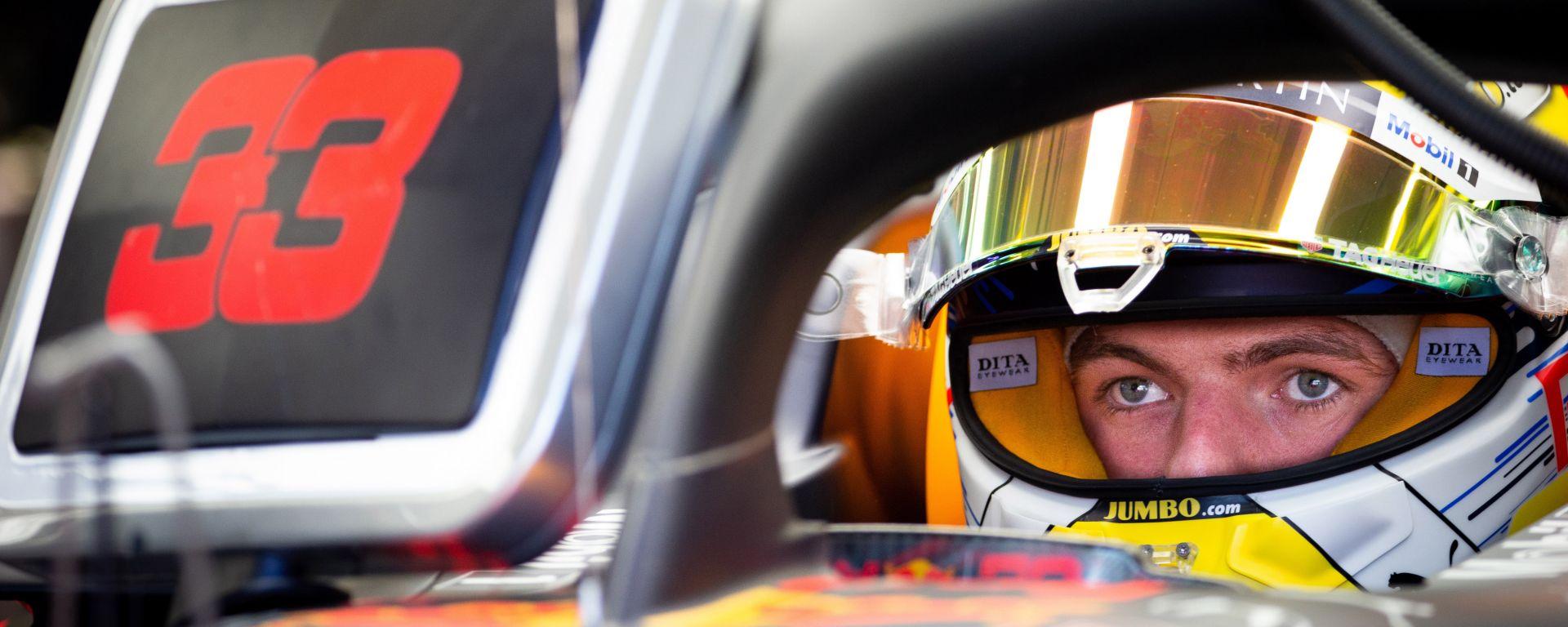 "F1 GP Austria 2019, Verstappen: ""La macchina funziona bene"""