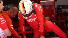 F1 GP Austria 2019, Vettel scende dalla sua SF90