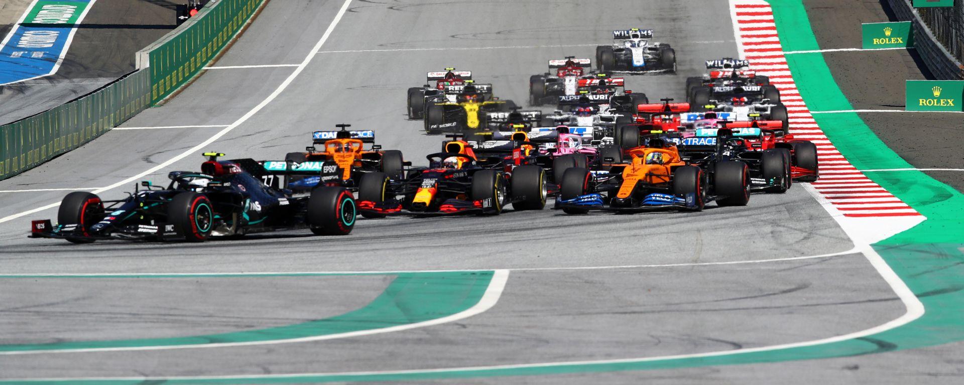 F1, GP Austria 2020: il via della gara
