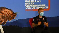 F1, GP Austria 2020: Kevin Magnussen imita Robert De Niro