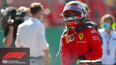 F1 GP Austria 2020, Red Bull Ring: Charles Leclerc (Ferrari) dopo la gara