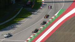 F1 GP Austria 2020, Red Bull Ring: la terza ripartenza, Bottas molto vicino alla Safety Car