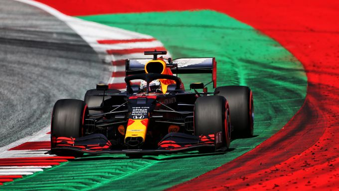 F1 GP Austria 2020, Red Bull Ring: Max Verstappen (Red Bull) in qualifica