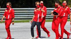 F1 GP Austria 2020, Red Bull Ring: Sebastian Vettel (Ferrari)