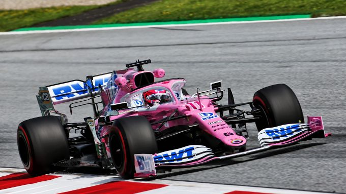 F1 GP Austria 2020, Red Bull Ring: Sergio Perez (Racing Point)