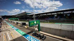 F1 GP Austria 2020, Red Bull Ring: Valtteri Bottas (Mercedes) scende in pista in qualifica