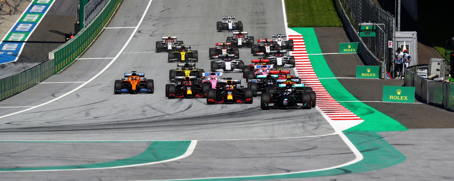 F1 GP Austria 2020, Spielberg: la partenza della gara
