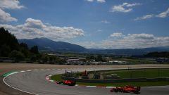F1 GP Austria 2020, Spielberg: Sebastian Vettel e Charles Leclerc (Scuderia Ferrari)