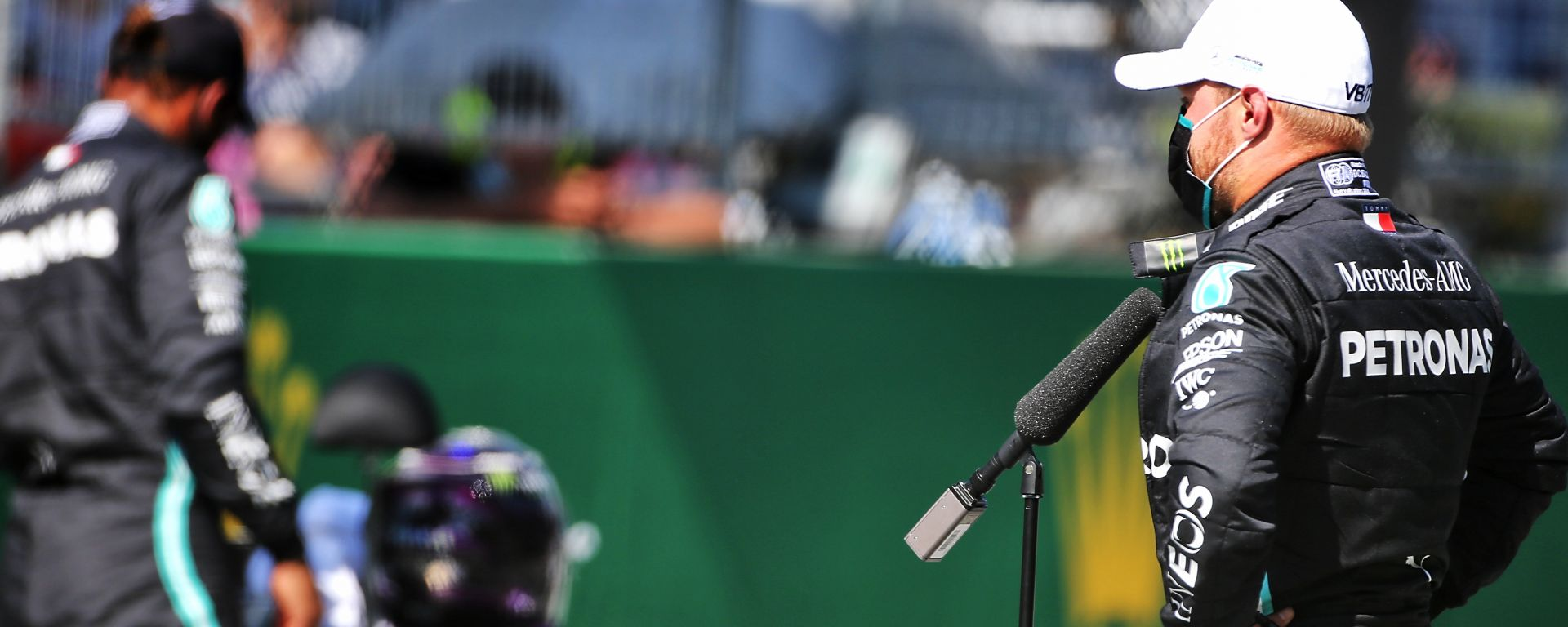 F1, GP Austria 2020: Valtteri Bottas (Mercedes) nelle interviste al termine delle qualifiche