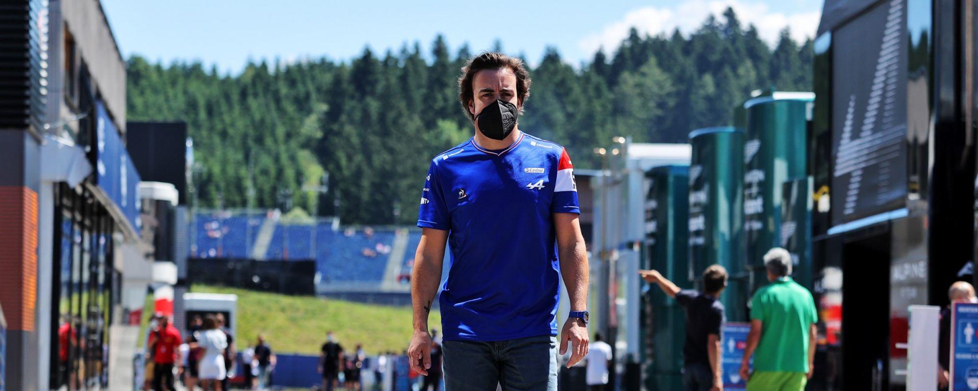 F1, GP Austria 2021: Fernando Alonso (Alpine)