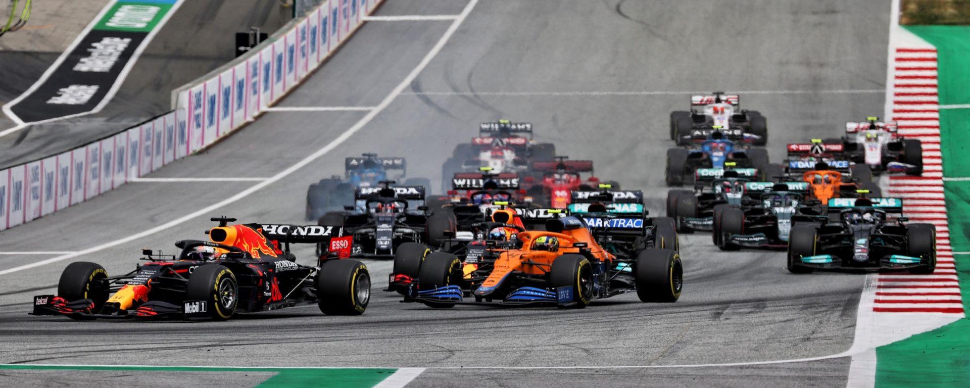 F1, GP Austria 2021: la partenza
