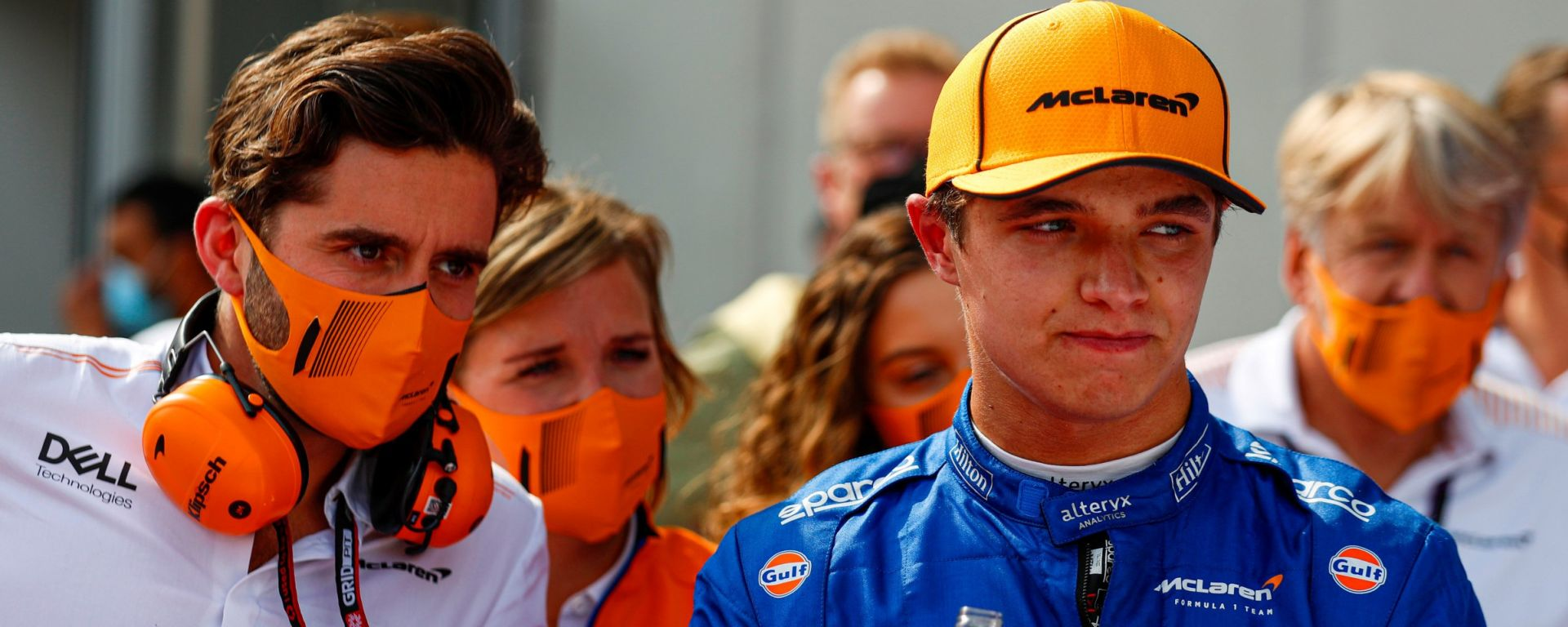 F1, GP Austria 2021: Lando Norris (McLaren)
