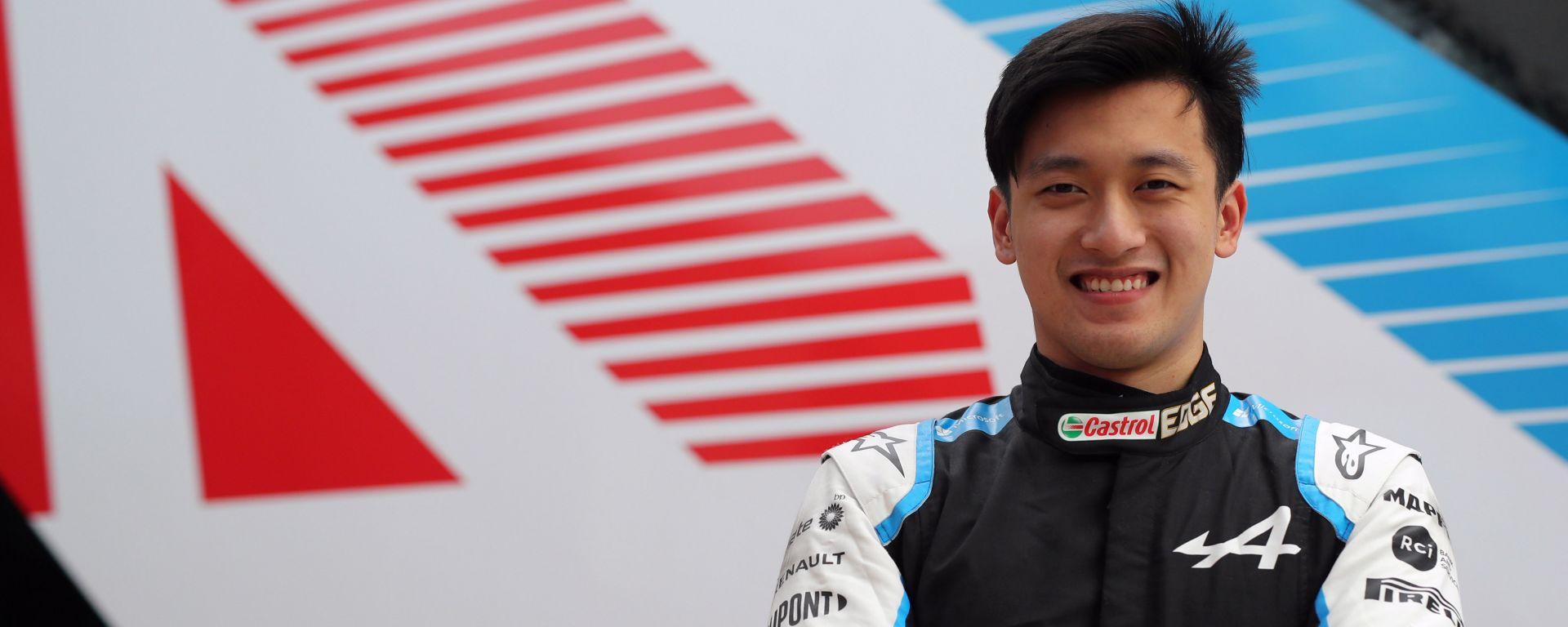 F1 GP Austria 2021, Spielberg: Guanyu Zhou (Alpine)