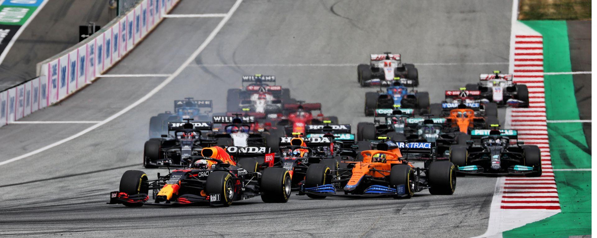 F1 GP Austria 2021, Spielberg: La partenza della gara