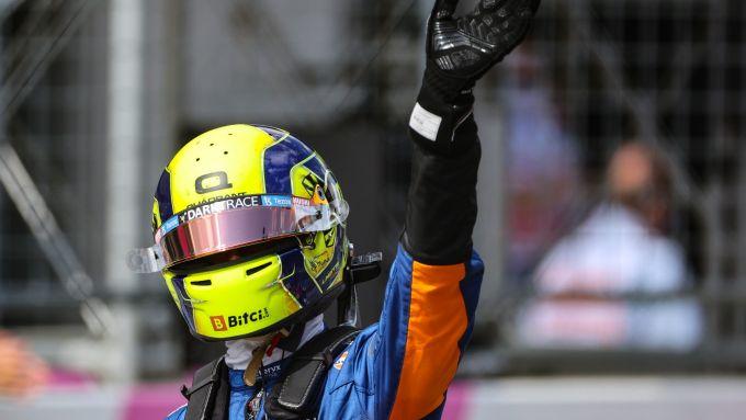 F1 GP Austria 2021, Spielberg: Lando Norris (McLaren)
