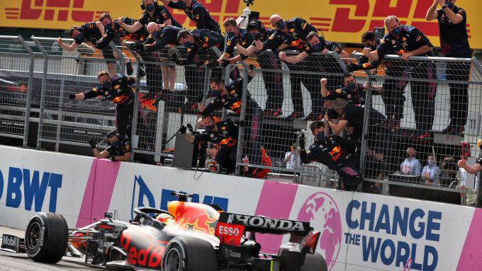 F1 GP Austria 2021, Spielberg: Max Verstappen (Red Bull)