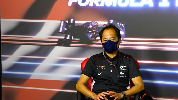 F1 GP Austria 2021, Spielberg: Toyuharu Tanabe (Honda Racing F1)