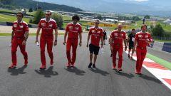 F1 GP Austria - Gli uomini Ferrari cercano di scoprire i segreti del tracciato di Spielberg