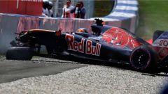 F1 GP Austria - incidente in Q1 per Daniil Kvyat