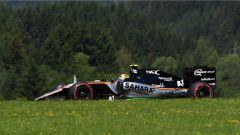F1 GP Austria - la Force India, con motore Mercedes, sembra molto competitiva sul circuito di Spielberg