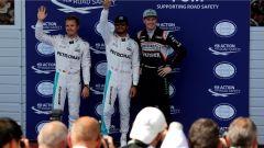F1 GP Austria - Rosberg, Hamilton e Hulkenberg