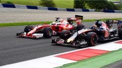 F1 GP Austria - Sebastian Vettel e Daniil Kvyat