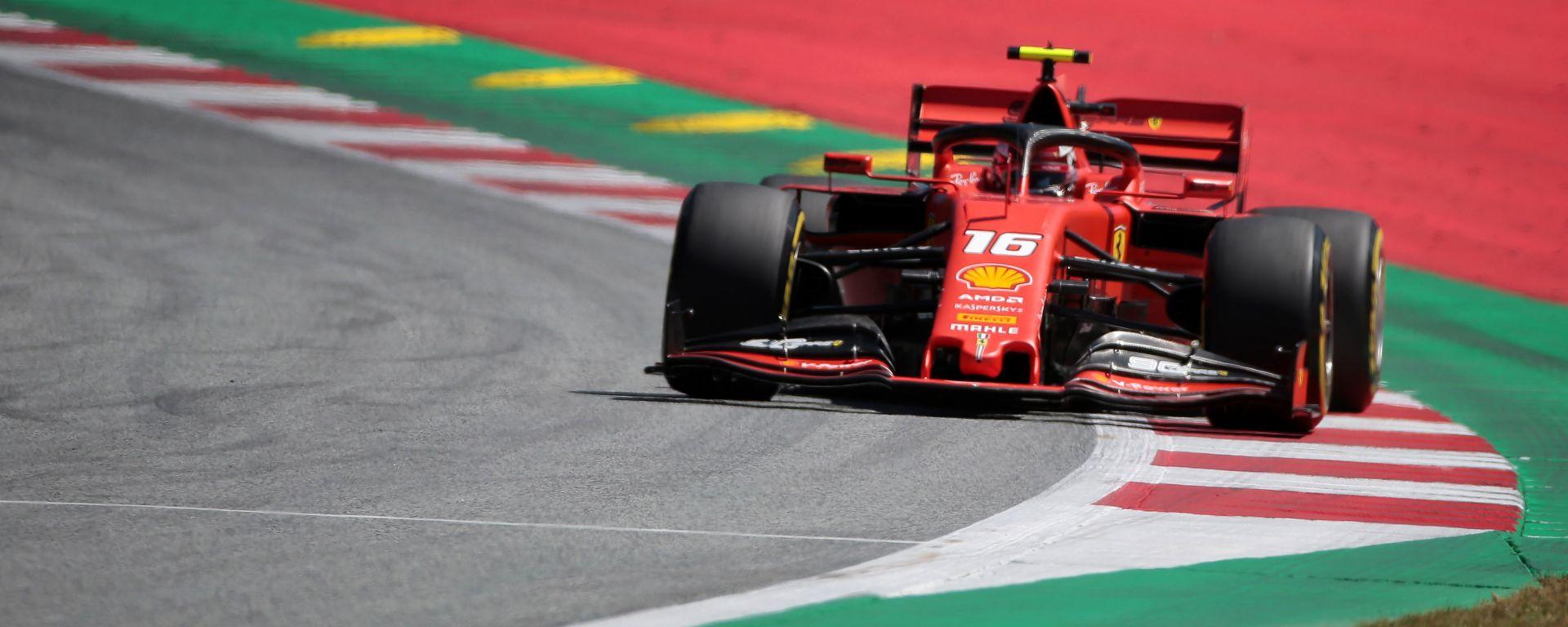 F1 GP Austria 2019 – PL2: Leclerc la spunta nel festival degli errori