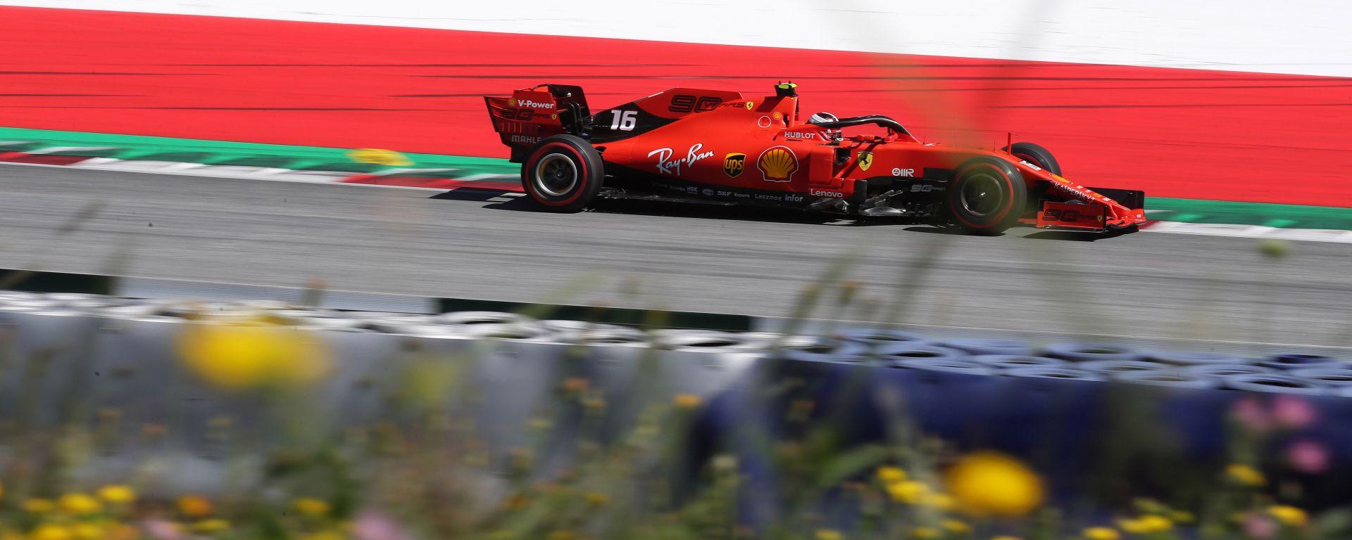 F1 GP Austria 2019 – PL3 Leclerc si mette dietro le Mercedes