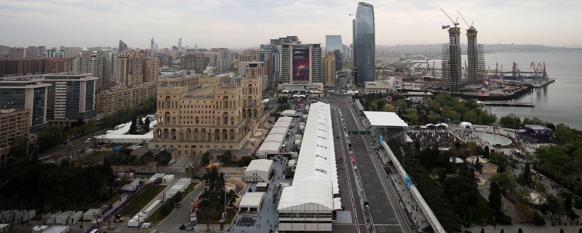 F1 GP Azerbaijan 2019, Baku: Atmosfera del circuito