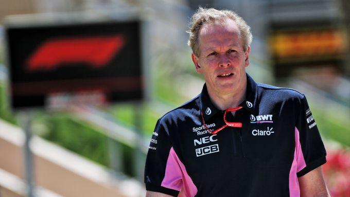 F1 GP Azerbaijan 2019, Baku: il direttore tecnico della Racing Point, Andrew Green