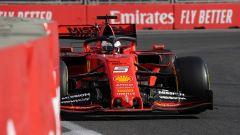 F1 GP Azerbaijan 2019, Vettel ha tagliato il traguardo al terzo posto